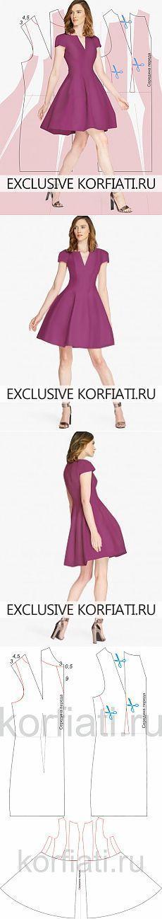Vestidos de costura personalizado cortadas de A. Korfiati