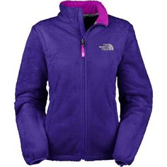 """The North Face Osito Fleece Jacket in Ultramarine Blue--I love my """"monkey fleece"""" jacket in the cold winter! I have two more in black and another in kelly green. #addicted #warm #fuzzy"""
