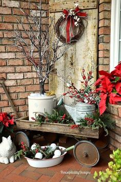 CUTE!!! Front Porch idea?