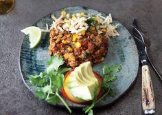 Tofu Frittatas with Corn Salsa