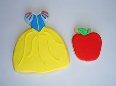 SugarBliss Cookies - Princess Snow White cookies