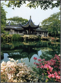 """""""Garden of the Master of the Nets. This garden is renowned for being a classic Yuan Dynasty garden and is considered to be Suzhou's finest garden."""" Went there today!!"""