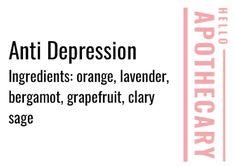 Migraine Essential Oil Blend, Essential Oils Detox, Essential Oils For Depression, Essential Oils For Migraines, Calming Essential Oils, Essential Oil Perfume, Essential Oil Diffuser Blends, Essential Oil Roller Bottles, Essential Ouls