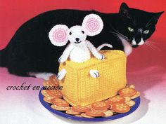 *Free Crochet Pattern:  Crochet In Action: Cheddar Mouse