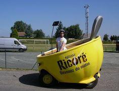 Nestle promo quad Tour de France