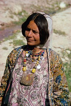 Woman of the Qashqai tribe, southern area, Iran, Middle East