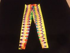 Psychedelic Leggings Sz Small by PsychedelicTieDyes on Etsy, $40.00