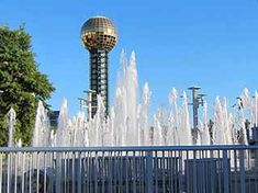 water park East Tennessee, World's Fair, Great Smoky Mountains, Seattle Skyline, National Parks, Water, Travel, Gripe Water, Viajes
