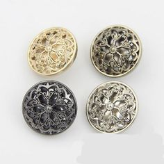 Find More Buttons Information about Buttons 18/20/22/25mm metal flower design for sweater coat shirt jacket handmade Gift Box  Craft DIY Sewing accessories,High Quality buttons designer,China designer buttons Suppliers, Cheap sewing accessories from Chinorui Store on Aliexpress.com