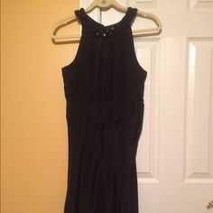 Banana Republic silk dress size 6 This is a silk dress from Banana Republic it has never been worn and has a bejeweled collar Banana Republic Dresses Wedding