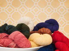 Malabrigo Merino Worsted Yarn - hand dyed, weight 4.