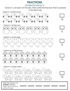 1000+ images about Teaching - Math: Fractions on Pinterest ...