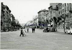 #ThrowbackThursday - Here's a street shot of VIa Andrea Doria in Rome back in the 1950s. What does this street look like today?  Photo from albumdiroma.it.