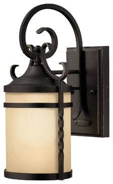 Casa Medium Wall Outdoor Lantern - traditional - outdoor lighting - Carolina Rustica