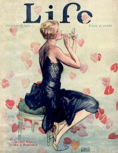 'Life' magazine cover, October 27 1927 | Cover illustration by John LaGatta…