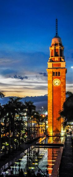 Clock Tower, HONG KONG (Special Adminisrative Region) CHINA ◉ re-pinned by Ranch Colony, Jupiter, FL http://www.waterfront-properties.com