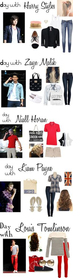 """One Direction Inspired"" by megan162534 ❤ liked on Polyvore the outfit fot the day with niall looks comfy! <3 day with Niall"