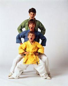 The 3 Ninjas. LOVED this movie