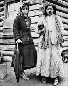 Image result for vintage photo native american alaska selling curios