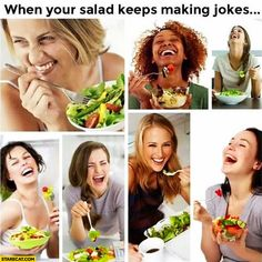 Funny salad - Funny Memes : Best collection of funniest memes around the world. Updated everyday so you'll always have fresh stock of funny memes. All Meme, Stupid Funny Memes, Funny Relatable Memes, Funny Fails, Hilarious, Funny Stuff, Funny Things, Funny Vegan Memes, Funny Diet