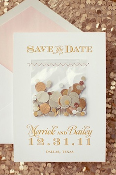 Invitacions amb confetti!