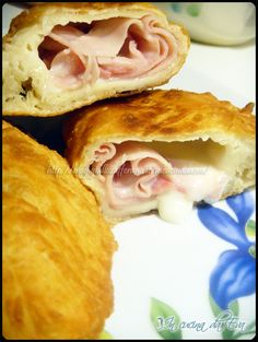 Panzerotti prosciutto e mozzarella con lievito madre