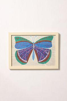 Butterfly Series Framed Art #anthropologie