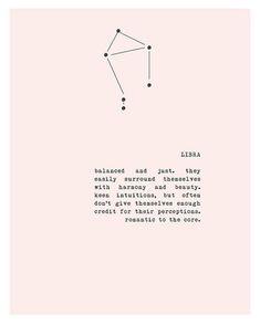 Equilibrado e justo. eles facilmente se cercar de harmonia e beleza. intuições perspicazes, mas muitas vezes não se dão crédito suficiente para suas percepções. romântico ao núcleo.