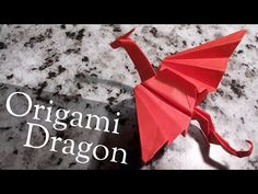 Origami Dragon - easy, step by step tutorial Origami Dragon – easy, step by s. Origami Dragon – easy, step by step tutorial Origami Dragon – easy, step by step tutorial – Origami 3d, Origami Ball, Origami Design, Easy Origami Dragon, Origami Simple, Easy Origami For Kids, Origami Artist, Useful Origami, Paper Crafts Origami