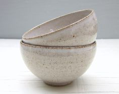 made to order - wheel thrown pottery - 2 small ice cream bowls on Etsy, $45.36 AUD