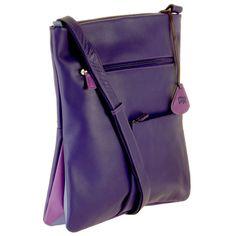 Violet Messenger Bag #myessentialmywalit Great Color