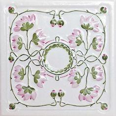 Ręcznie robiony kafel różyczka (kafle.com.pl) Decorative Plates, Country, Home Decor, Decoration Home, Rural Area, Room Decor, Country Music, Home Interior Design, Home Decoration