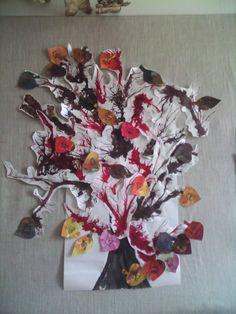 Strom - rozfoukaná tuš