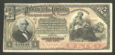 Argentina, Banknote, CORDOBA 5 Pesos 1889 , Pick S742, Very Scarce, VF+/XF !