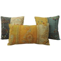 19th Century Turkish Pillows   From a unique collection of antique and modern pillows and throws at https://www.1stdibs.com/furniture/more-furniture-collectibles/pillows-throws/