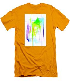 Men's T-Shirt (Slim Fit) - Abstract 9616