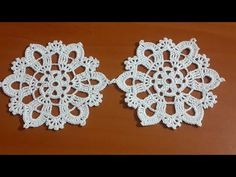 Shrink your URLs and get paid! Crochet Motifs, Freeform Crochet, Irish Crochet, Crochet Stitches, Crochet Dollies, Crochet Flowers, Crochet Lace, Free Crochet, Doily Patterns