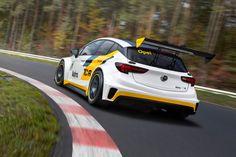 Opel Astra TCR: helaas alleen voor het circuit