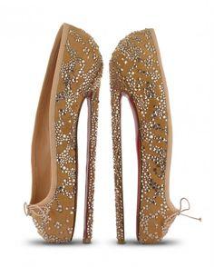 Christian Louboutin's 8inch Ballerina Heels {Tuesday Shoesday}