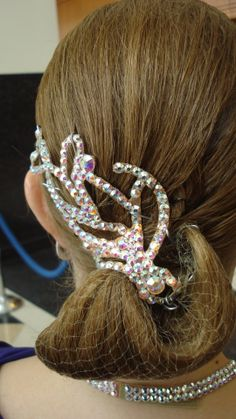 Fun Ballroom hair.  By Erin Marie.
