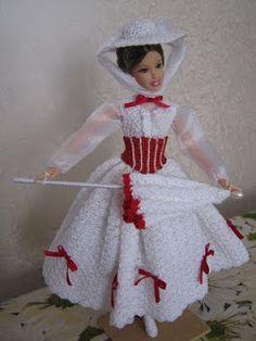 Crocheart: Barbie MARY POPPINS