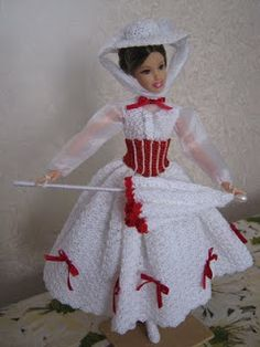 Crocheart: Barbie MARY POPPINS