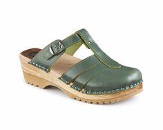 60c908b5c3ed Mary Jane - Laurel Green - Troentorp Clog Boots