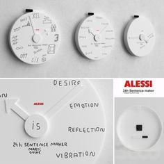 Alessi Blank Wall Clock - MGU02