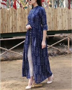 Casual Indian Fashion, Indian Fashion Dresses, Indian Designer Outfits, Designer Dresses, Classy Fashion, Kurti Neck Designs, Kurta Designs Women, Kurti Designs Party Wear, Stylish Dress Designs