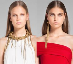 Lela rose via Adorn London lov the draping chain resort-2014-adorn-london-jewelry-trends-blog-two