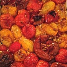 Oven Roasted #Tomatoes  vibrant, beautiful, healthy, delicious! #vegan