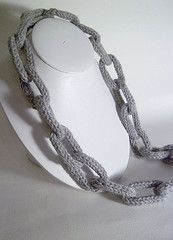#tricotin necklace