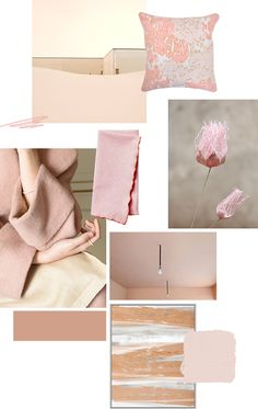 Color Collage- Dusty Rose // via The Elysian Edit @jessicacomingre