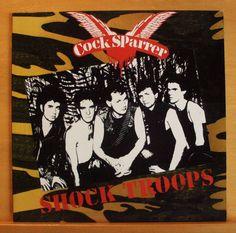 COCK SPARRER Shock Troops Vinyl LP England belongs to me Riot Squad Secret Army